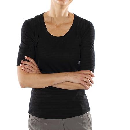 exofficio Damen Exo Dri Lattice Scoop 1/2 Sleeve Shirt: Amazon.de: Sport &  Freizeit