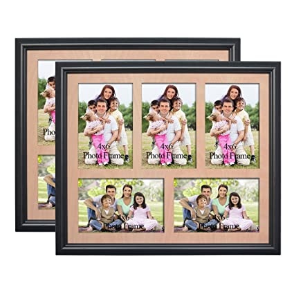 Amazon Petaflop 4x6 Collage Picture Frame 5 Opening Collage