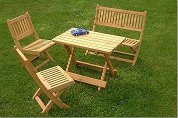Hervorragend Amazon.de: Kindersitzgarnitur, 4-tlg, Gartenmöbel Garnitur für Kinder PW58