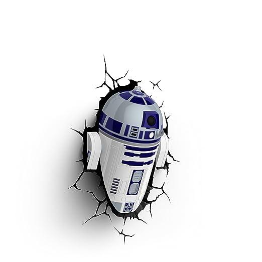 2 opinioni per 3d Deco Light Fx Lampada da Parete Disney Star Wars with Crack Sticker con