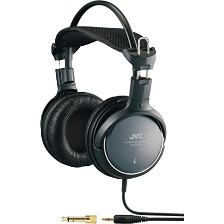JVC Precision Sound Full Size Headphones Wired Headsets