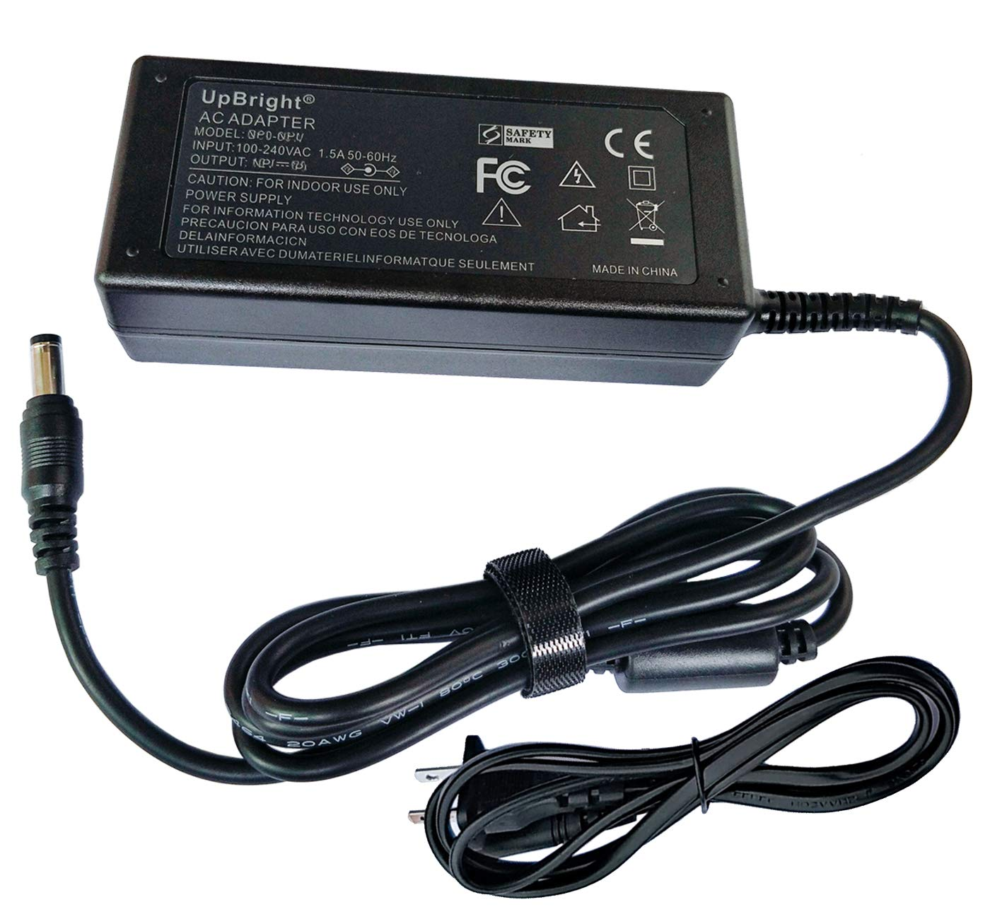 UpBright New 25V AC/DC Adapter Compatible with LG NB4543 4.1ch NB3540 NB4540 NB 3540 NB 4540 SL5Y SL6Y SL7Y SL8Y SL8YG SK4D SL4Y SL3D SoundBar Smart Audio Wireless Sound Bar 25VDC Power Supply Charger