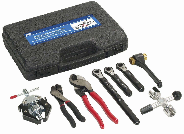 OTC 4631 8-Piece Battery Terminal Service Kit by OTC