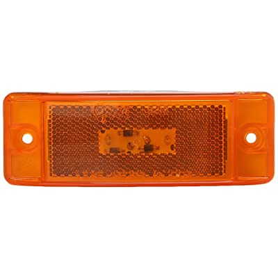 Grote G2103 Hi Count Yellow Turtleback II LED Clearance Marker Light: Automotive