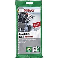 SONAX Cockpitonderhoudsdoekjes matteffect (10 stuks) vochtige doeken reinigen, onderhouden en beschermen alle kunststof…
