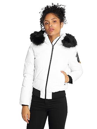 Superdry Femme Manteaux   Vestes Manteau Hiver Everest Ella  Amazon ... 0f294184f6bf