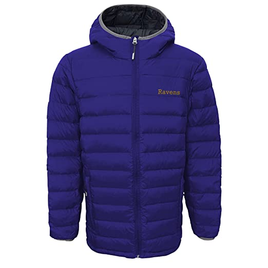 c7a5c39fc Outerstuff Boys' Solid Packaway Puffer Jacket