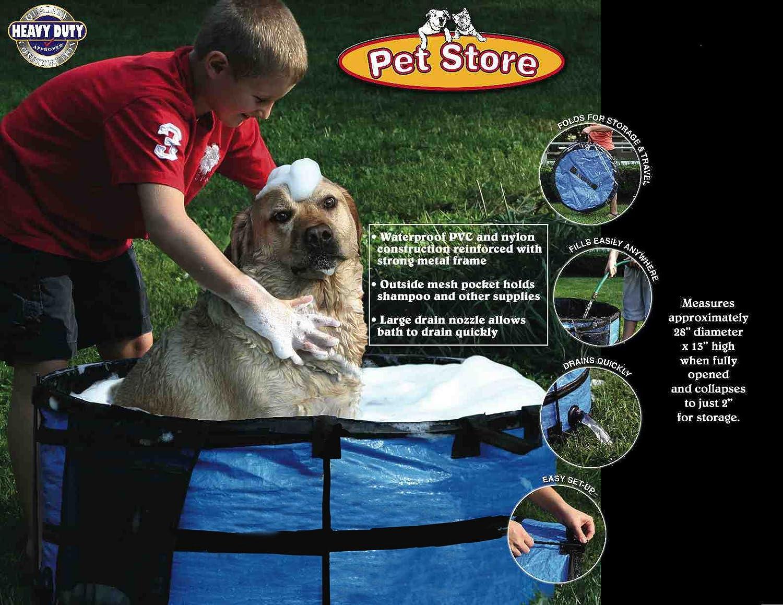 Amazon.com : ABO Gear Dirty Dog Portable Dog Bath : Pet Care Products : Pet  Supplies
