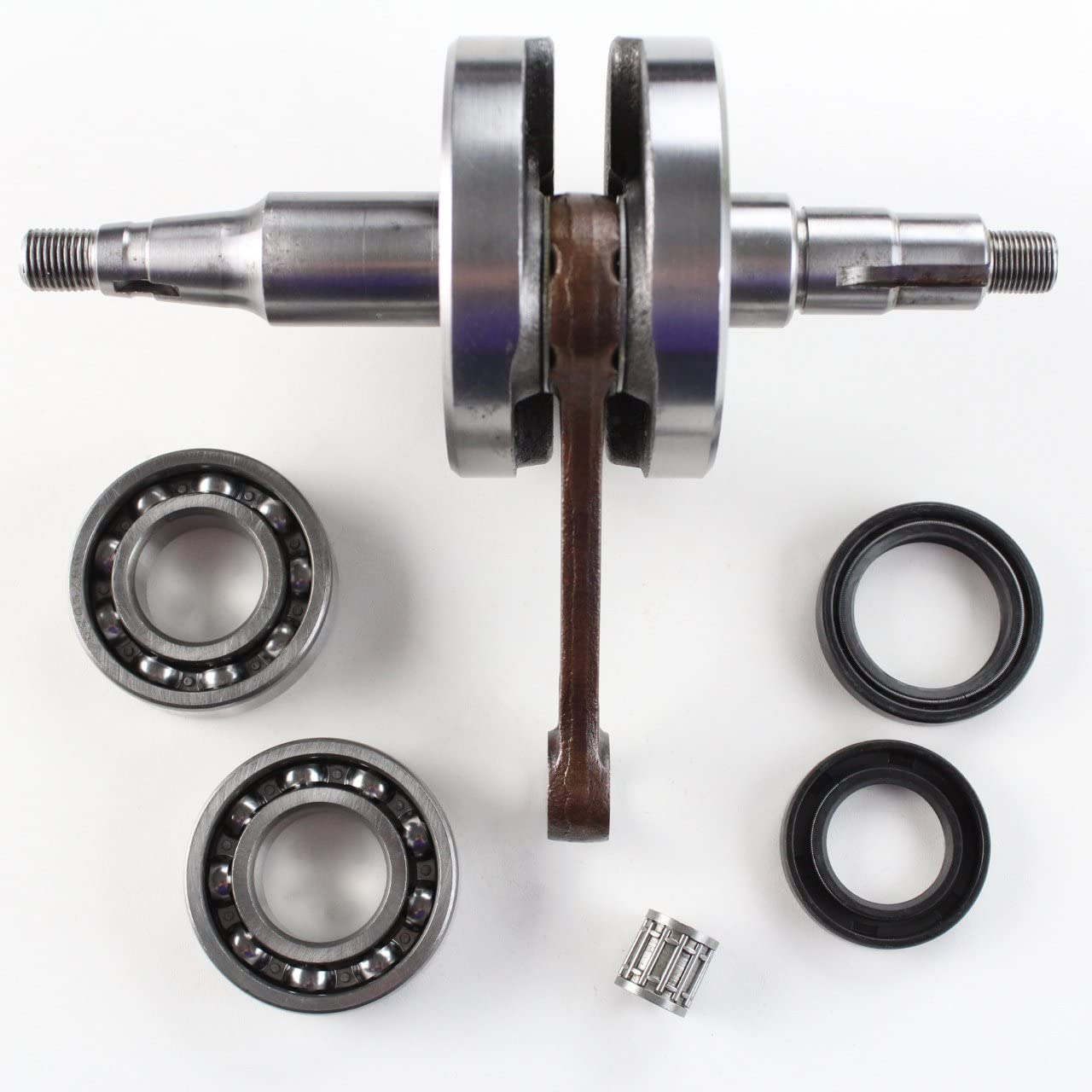 NICHE Crankshaft Assembly for Yamaha PW80 Y-Zinger 1983-2006