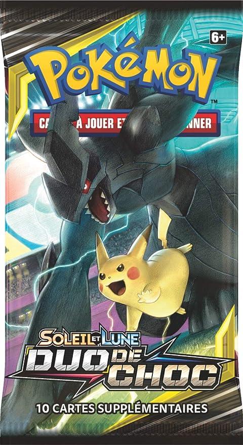 carte pokemon duo de choc Amazon.com: Pokemon Random Model Sun and Moon Booster Duo of Shock