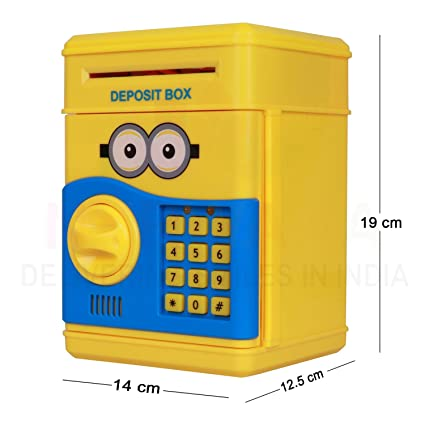 Buy Daily Essentials Minion Mini ATM With Electronic Lock