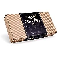 Caja Regalo de Cafe Especialidad apta Para Hombre y Mujer - Paquete de Degustación Gourmet con 10 de Los Mejores Cafés…
