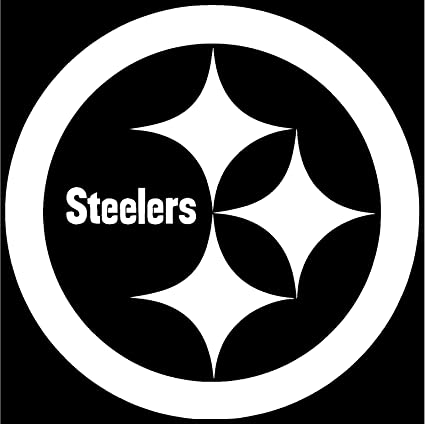 Image Unavailable. Image not available for. Color  Pittsburgh Steelers  Vinyl Sticker ... 0485aeef7