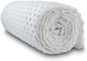 Cooshi Weighted Blanket Cover - 16 Ties - Soft and Machine Washable (Cream, 48 x 72)
