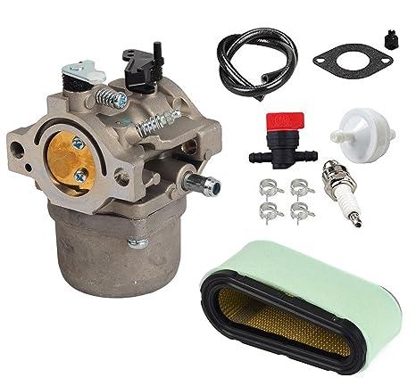 Carburetor kit for Briggs /& Stratton 593432 794653 699737 699856 699896 790022