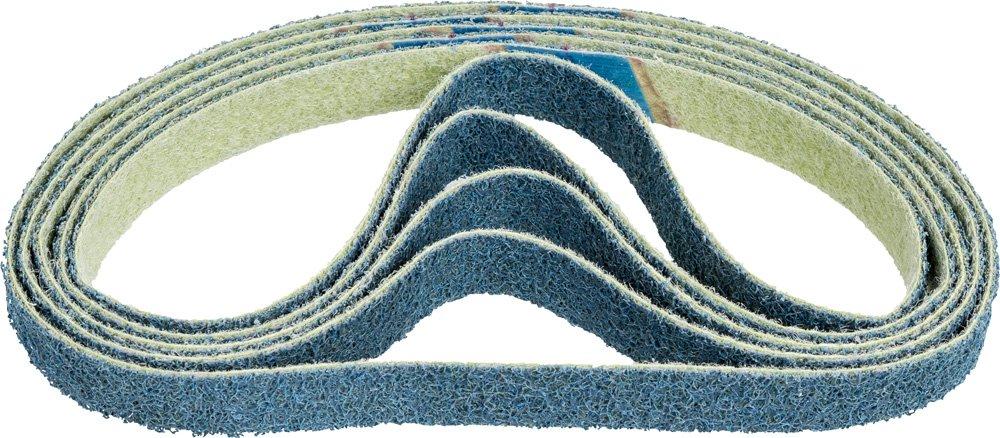PFERD 43567 Polivlies Surface Conditioning Abrasive Belt 20-1//2 Length x 3//4 Width Pack of 10 Fine Grit Aluminum Oxide A