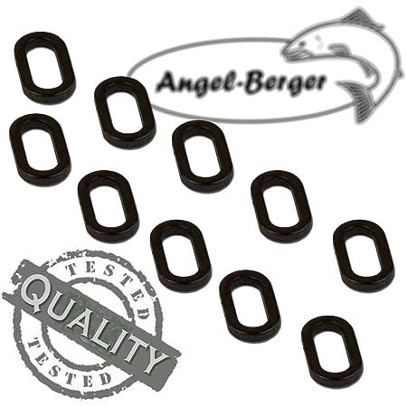 Angel Berger Carp Series Rig Ring Oval Karpfenkleinteile Carptackle