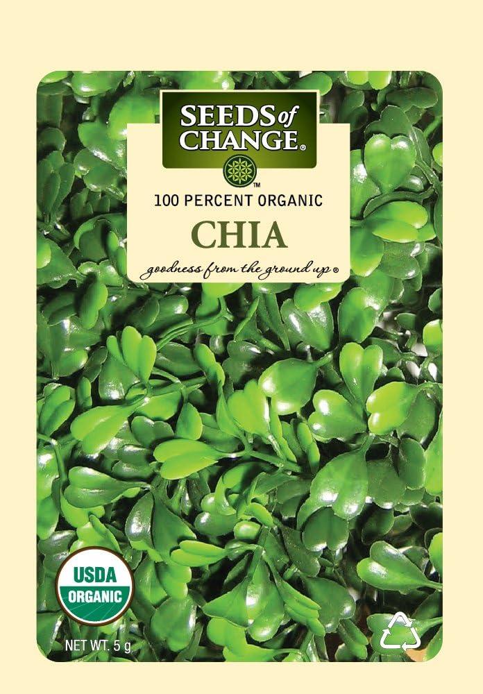 Amazon.com: Semillas del cambio 7957 Chia semillas Orgánica ...