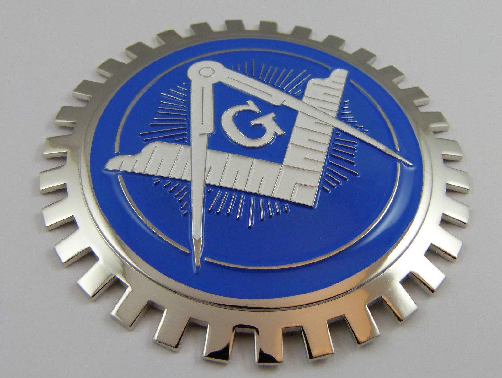 Aplique Insignia Para Parrilla Mason Masonic Para Parrilla M