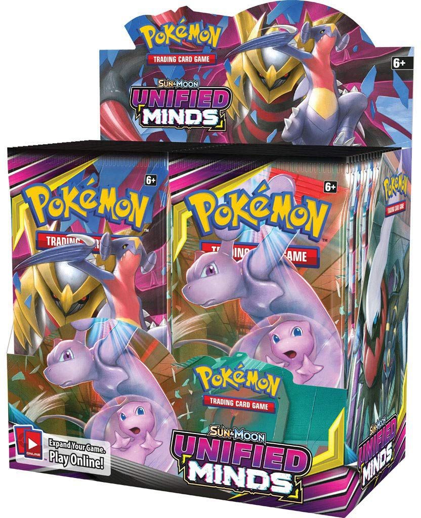 Pokemon TCG: Sun & Moon Unified Minds Booster Box