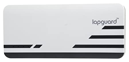 Lapguard Sailing 1530 Power Bank 15000mAh Make In India portable charger Powerbank  White Black Power Banks
