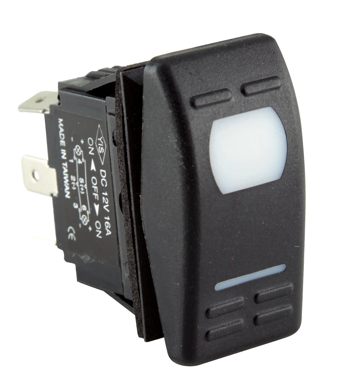 50031019 SeaSense 6P Splash Proof Switch Unified Marine Inc