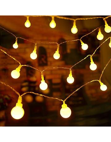 Guirlandes Lumineuses D Exterieur Amazon Fr
