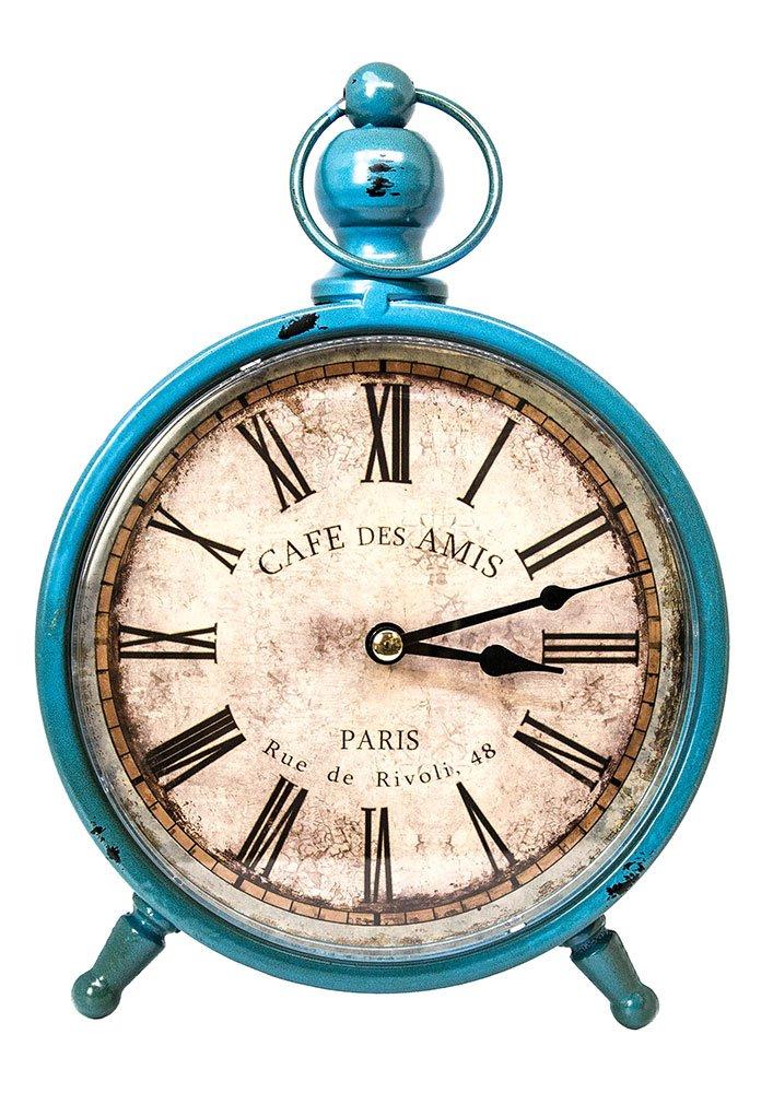 Reloj vintage de pie Estilo paris azulhttps://amzn.to/2Ce0HQQ