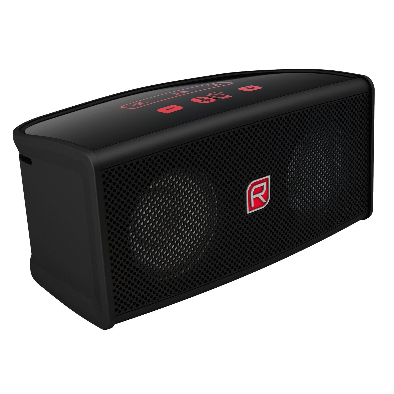 Raikko TOUCH Bluetooth Stereo mini aktiv Lautsprecher inkl Akku 2x 3 Watt micro USB Line IN schwarz Amazon Audio & HiFi