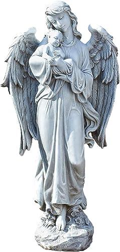 Roman Joseph's Studio Angel Holding Baby Statue