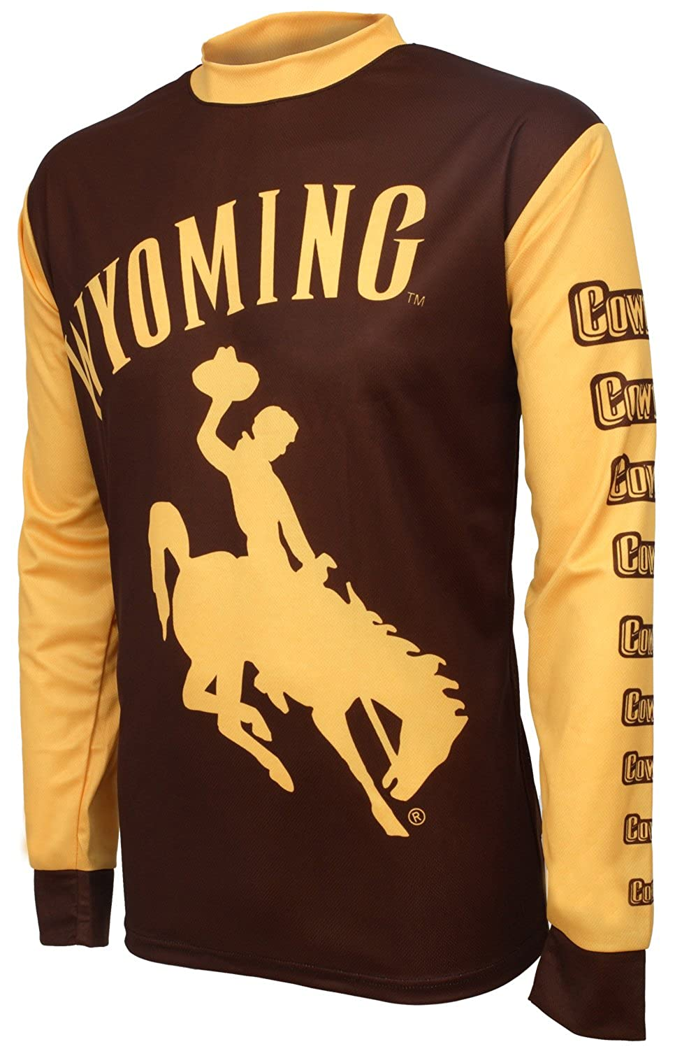 new style 25c71 d6745 NCAA Wyoming Cowboys Mountain Bike Cycling Jersey