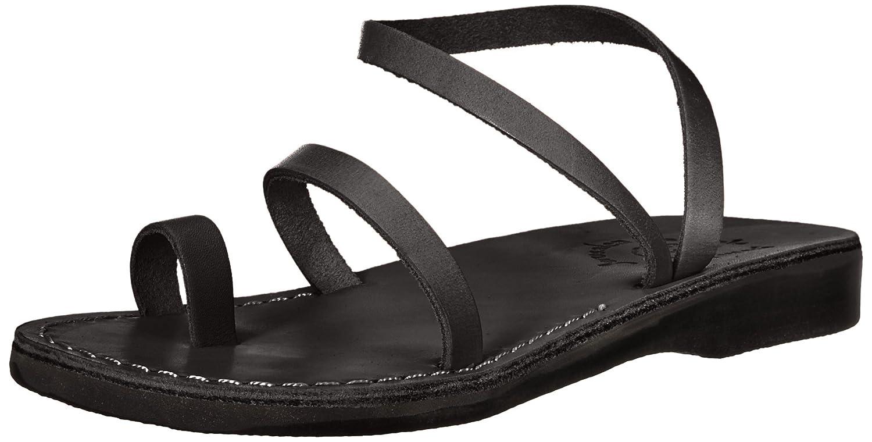 Jerusalem Sandals Women's Ella Sandal B075L48MWG 40 Medium EU (9-9.5 US) Black