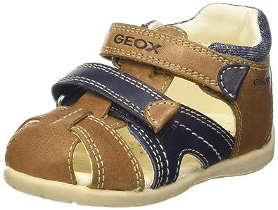 Geox Kids Baby Boy s Baby Kaytan Boy 25 (Infant Toddler) Caramel Navy 1b6dba1b0ea1