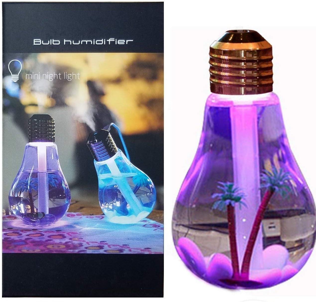Gran Capacidad de 800ML Pantalla LED humidificador de Niebla fr/ía difusor de Aroma de Aceite Aromaterapia para la Oficina en Baoblaze Humidificadores USB