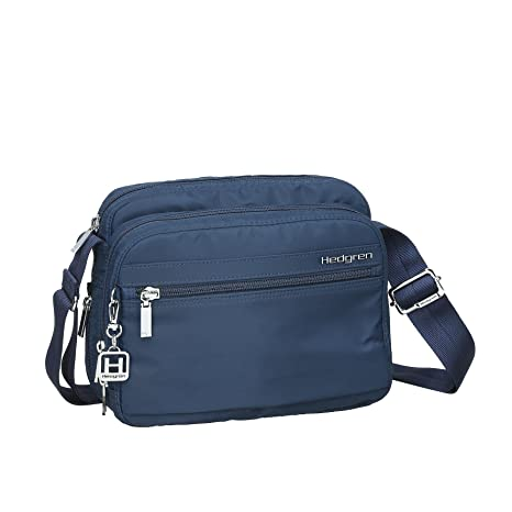 653dc187b8f Amazon.com   Hedgren Women s Inner City Metro Crossbody Bag with Organizer  Panel, Padded Tablet, Key Leash and Phone Pocket, 9.4 x 4 x 8 Inches, ...