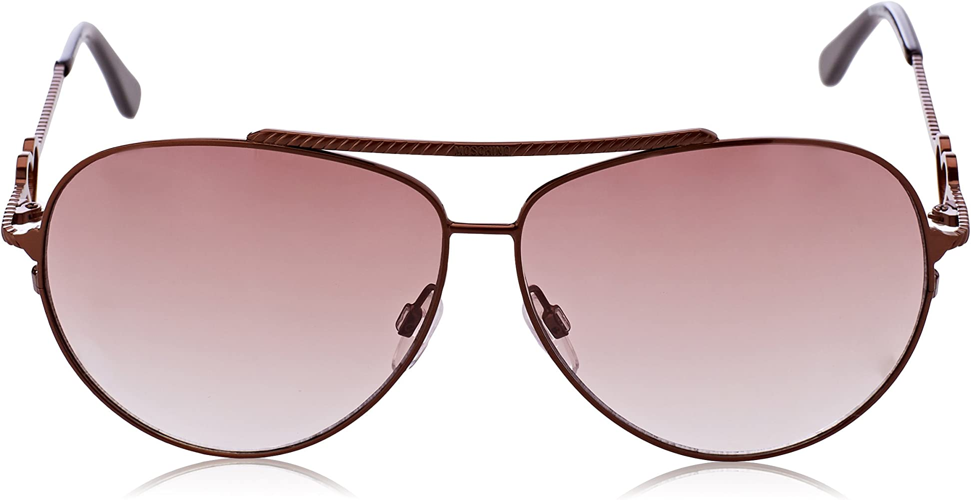 Moschino Eye Gafas de sol, Marrón (Rame), 61 para Mujer: Amazon.es: Ropa y accesorios