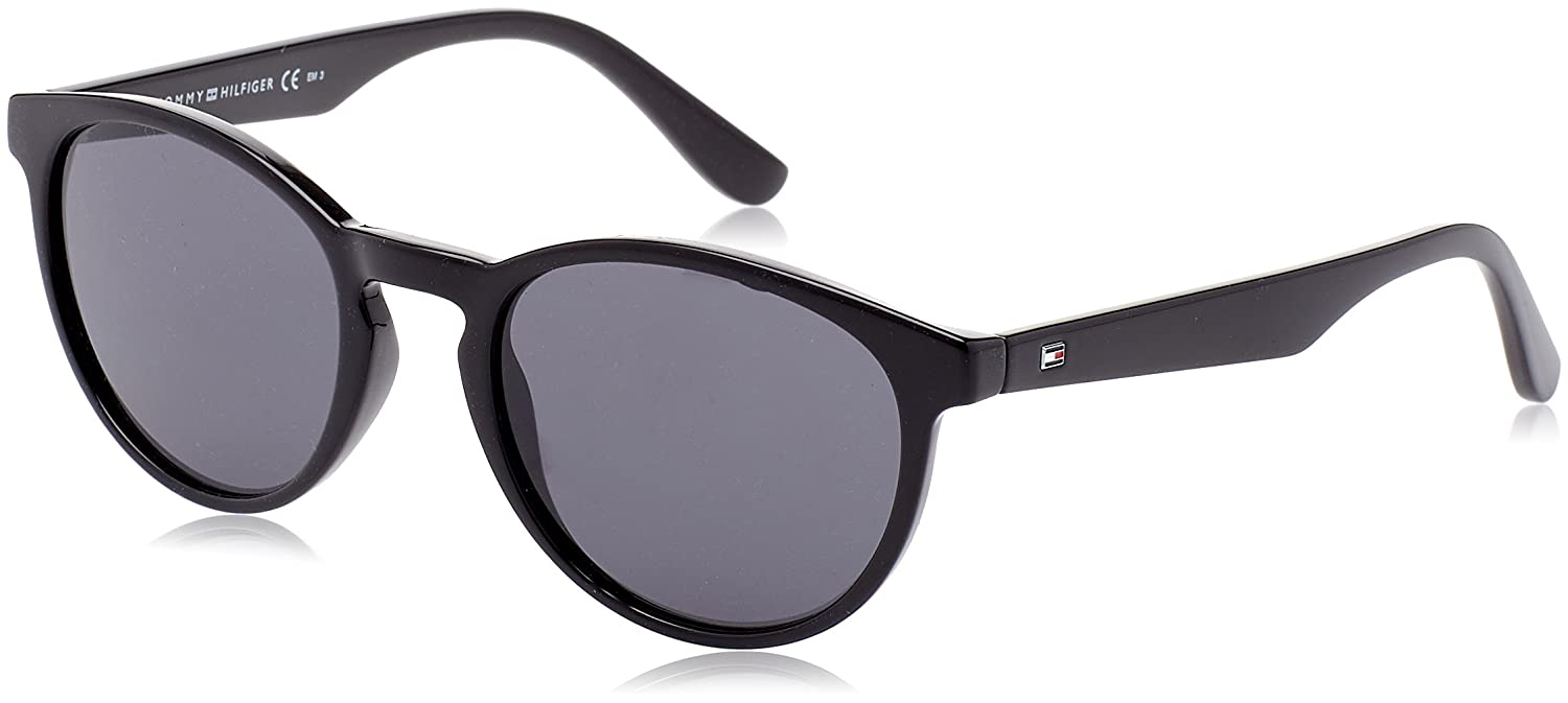 Amazon.com: Tommy Hilfiger TH 1485/S 807ir (Negro con Lentes ...