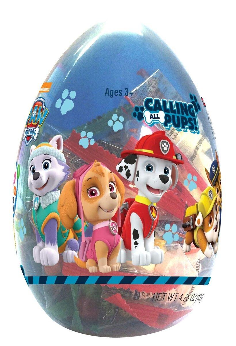 NWT LLAMA Bunny Paw Patrol Plush Easter Basket Tassels Spritz Grass Eggs Set