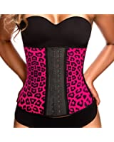 Ann Chery Women's Faja Clasica Animal Print Workout Waist Cincher