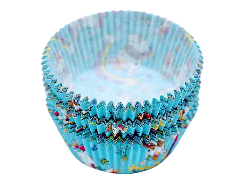 Gande Design 12/Pieza Muffin Cupcake Moldes Unicornio Magic Punky Funky 50/x 32/mm gefrierecht de hasta 40/Grados