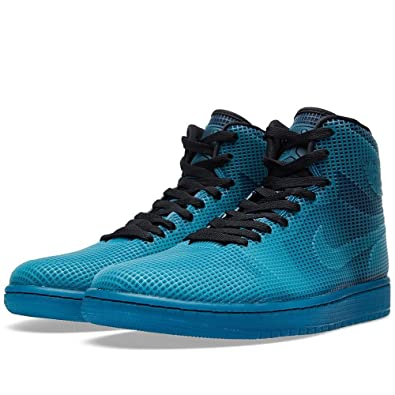 Jordan Men's Teal Aj 4lab1 Sneakers black Tropical Soldes Uk
