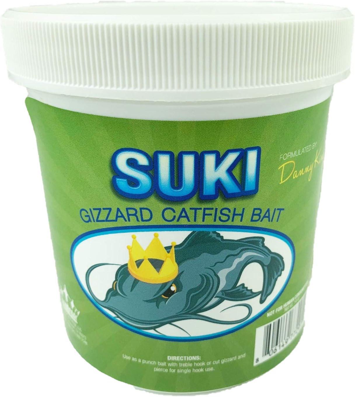 Suki Gizzard Catfish Bait - 1 Pint