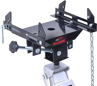 Hawk herramientas 0,5 Ton 500 kg resistente garaje taller coche Van vehículo adaptador de transmisión Caja de cambios gato hidráulico de planta apoyo: Amazon.es: Bricolaje y herramientas