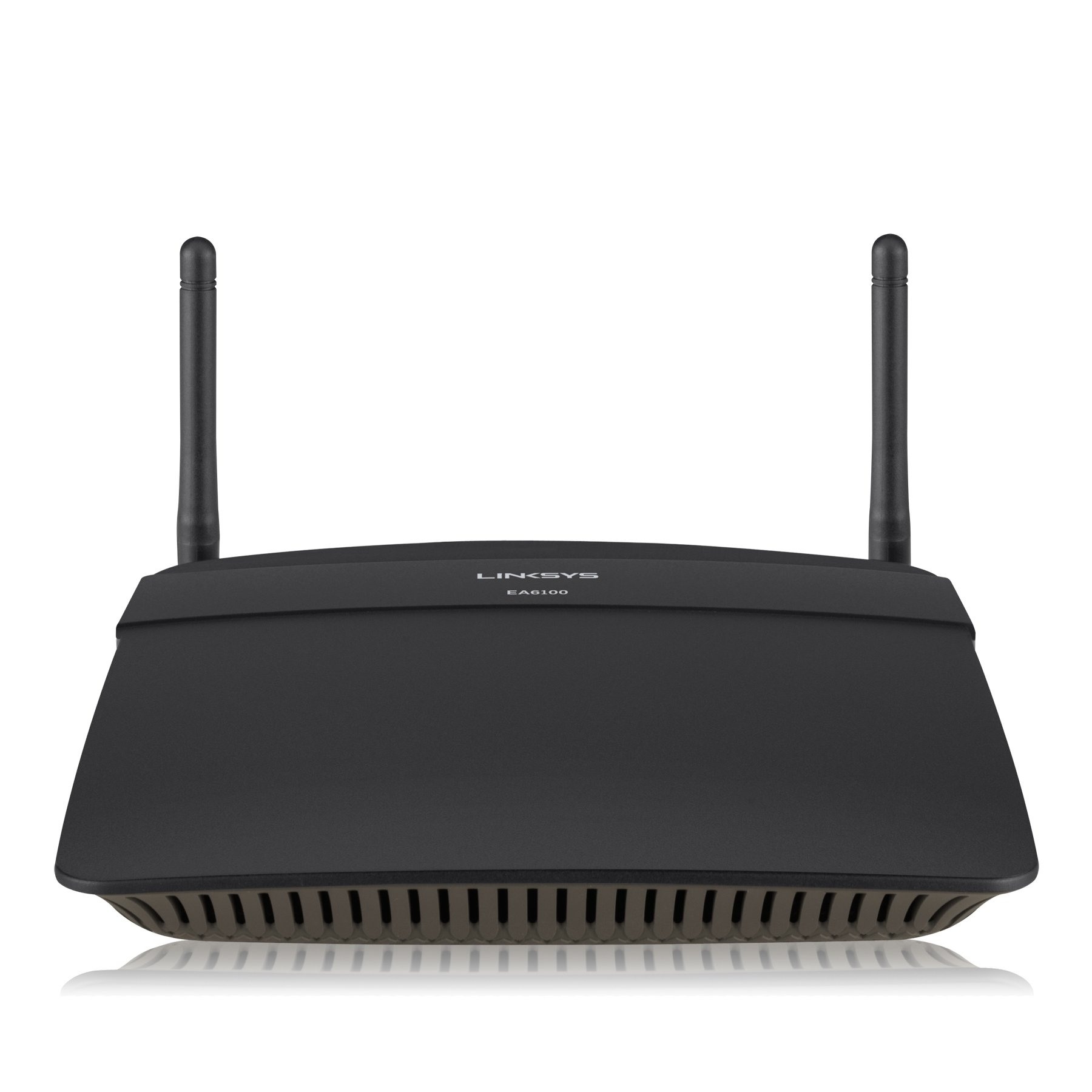 Linksys AC1200 Wi-Fi Wireless Dual-Band+ Router, Smart Wi-Fi App Enabled to Control Your Network from Anywhere (EA6100) by Linksys