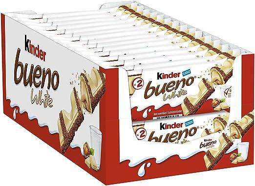 Kinder Barra de chocolate Bueno 39G (Pack de 30): Amazon.es ...