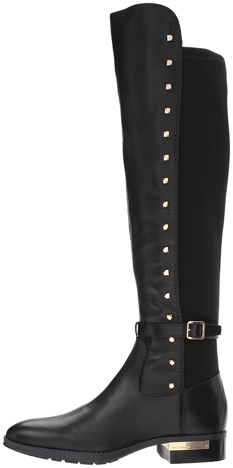 Vince Camuto Women's Pelda Over The Knee Boot B0728H3R4D 12 B(M) US|Black