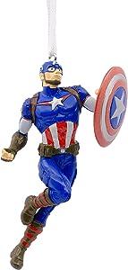 Hallmark Christmas Ornaments, Marvel Avengers Captain America Ornament