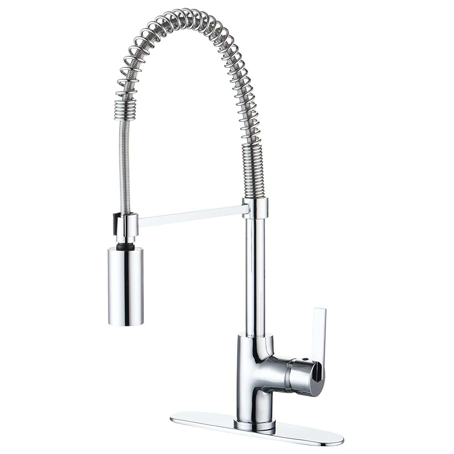 enzo rodi erf7209251cp 10 modern commercial kitchen faucet with enzo rodi erf7209251cp 10 modern commercial kitchen faucet with pull down sprayer polished chrome amazon com