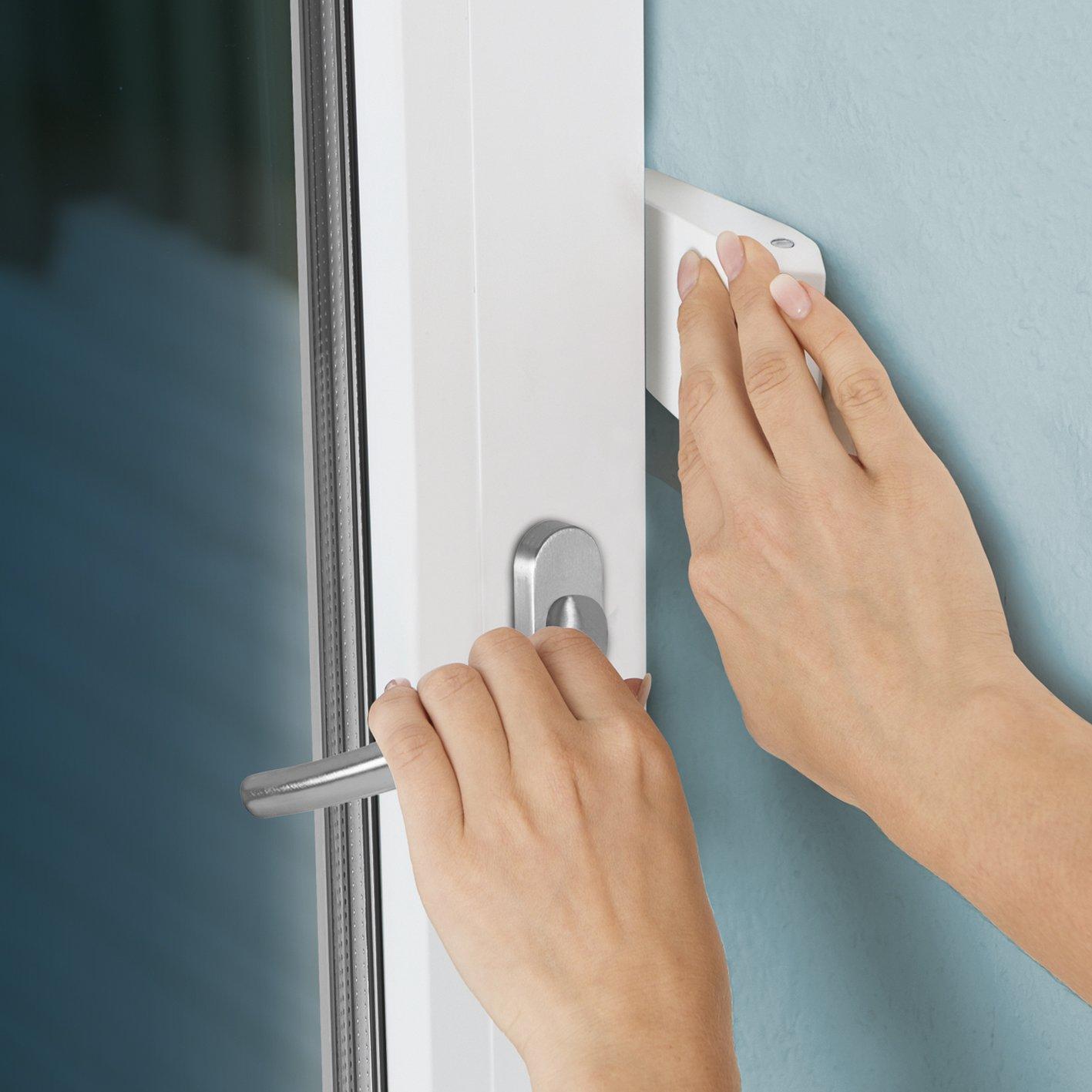Blocca finestra chiusura di sicurezza antintrusione.
