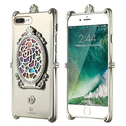 Amazon.com: Funda de espejo de maquillaje para iPhone 7 6 6S ...